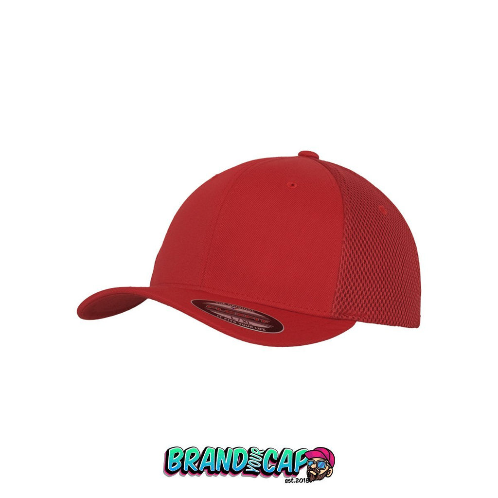 Flexfit Tactel Mesh - red - BrandyourCap.de