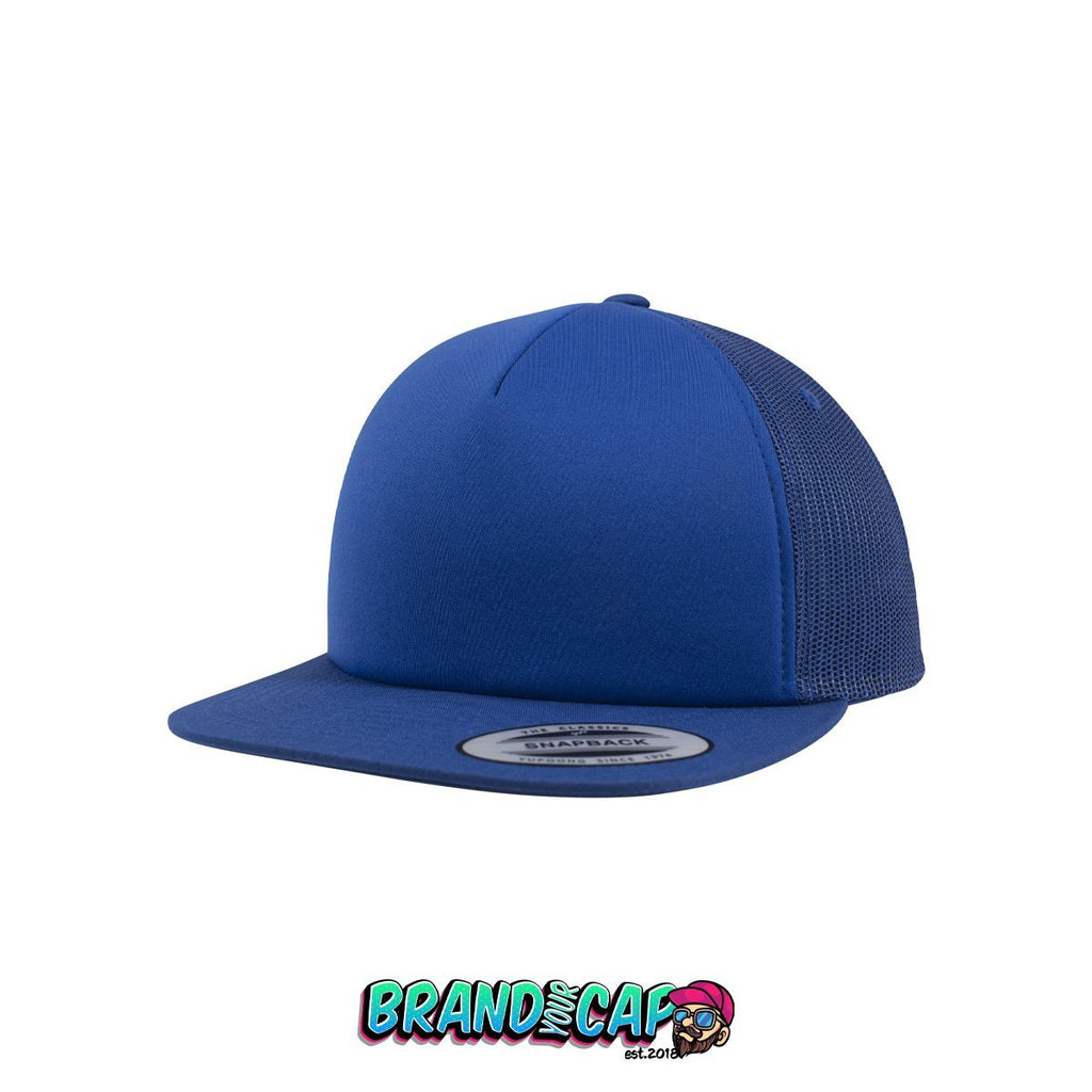 Foam Trucker - royal - BrandyourCap.de