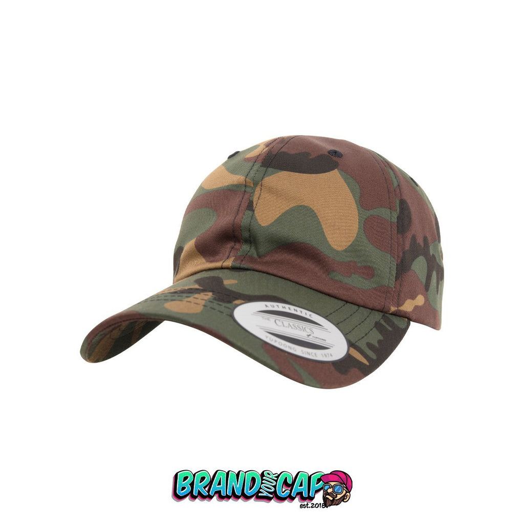Low Profile Cotton Twill - camo - BrandyourCap.de