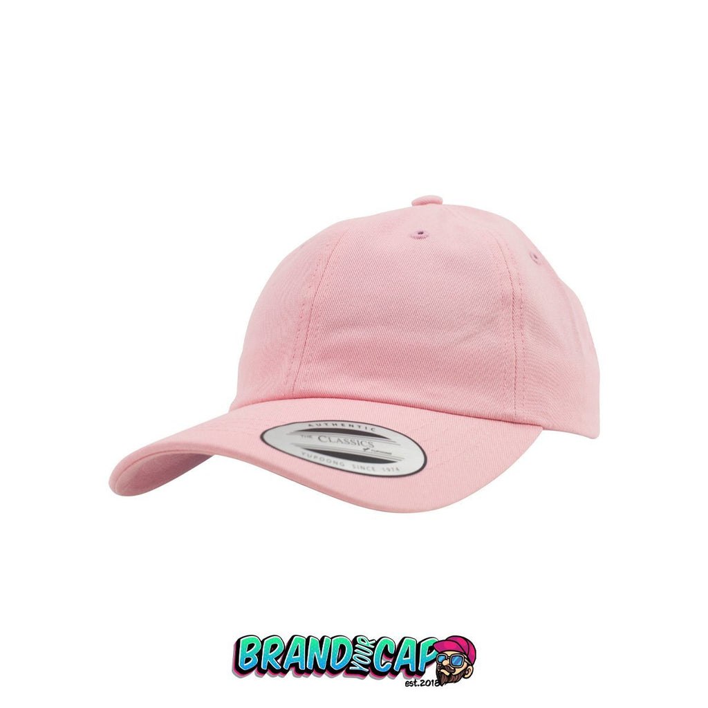 Low Profile Cotton Twill - pink - BrandyourCap.de
