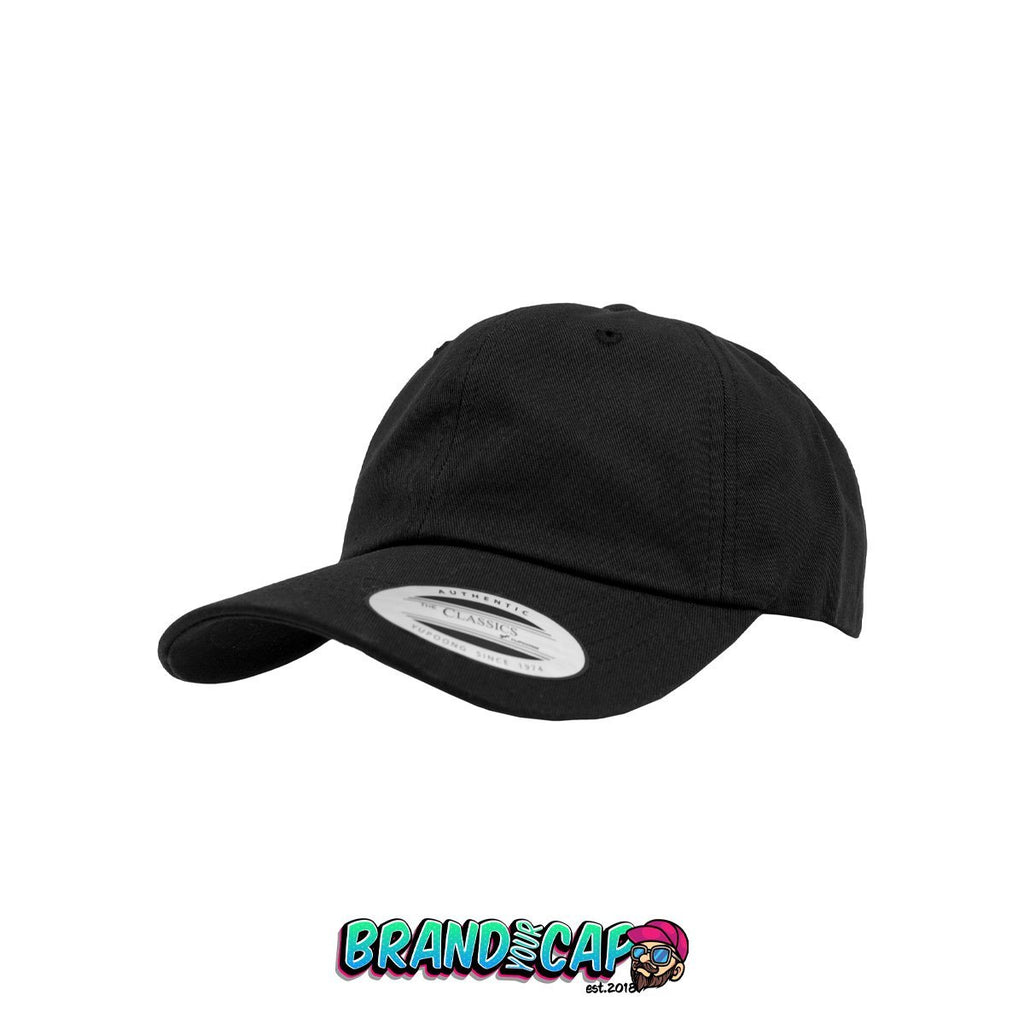Low Profile Cotton Twill - black - BrandyourCap.de