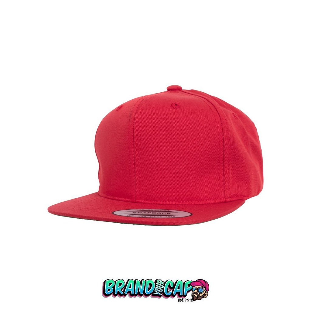 Casquette Pro-Style Twill Snapback Youth - rouge - BrandyourCap.de