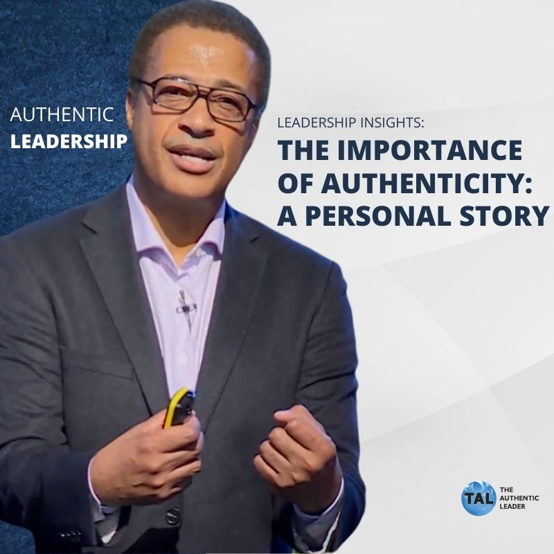The Importance of Authenticity: Harold's Personal Story