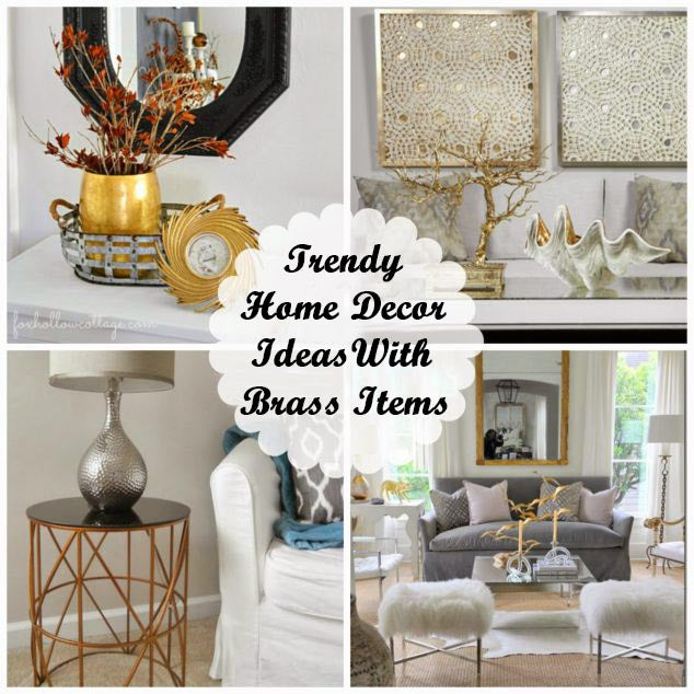8 Best Ideas For Decorating Your home with Brass items and Antiques