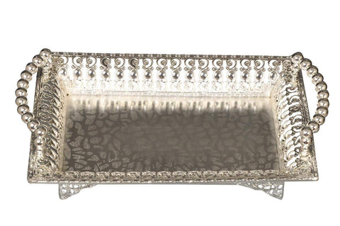 German silver Tray for return gift