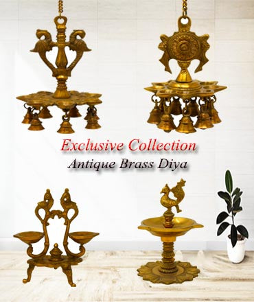 Buy Online Ashtok Brass Diyas. A best home decor item for Diwali. Pure Brass Diyas online. Beautiful oil lamp can be used as a home decor item or it can also be gifted to your near and dear ones. Also, Adorn your temples with this Kuber diya
