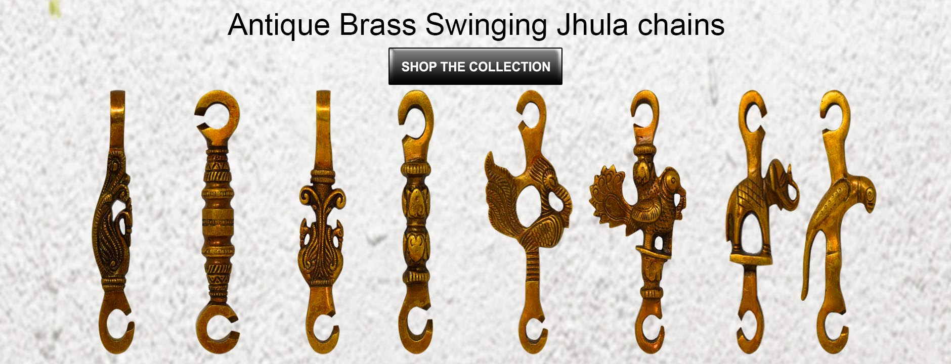 Buy Online Brass Swing Chains from Ashtok. Pure brass jhula chains for Jhula. Best Price online swing chains at reasonable price