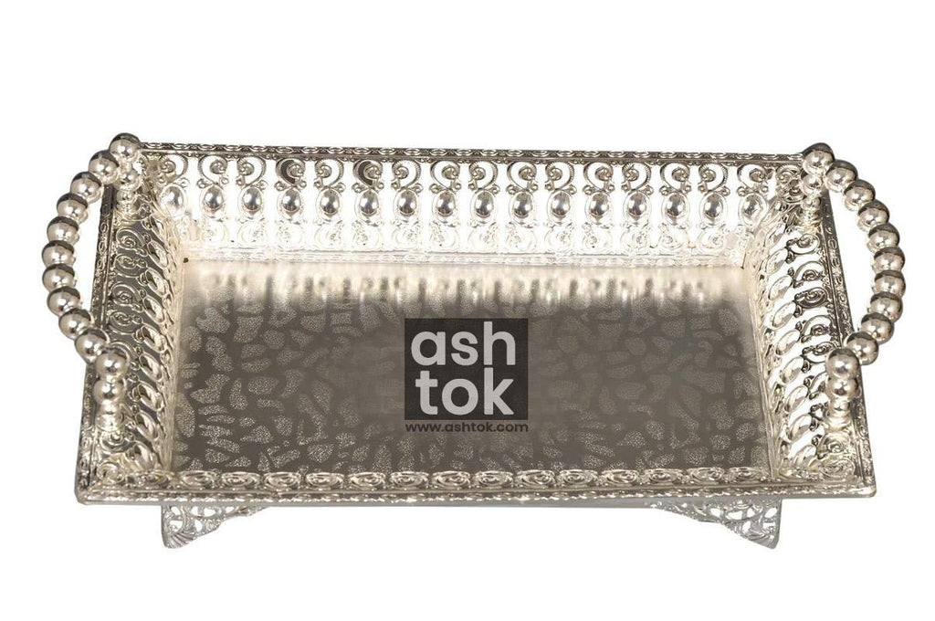 German Silver Fancy Tray