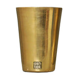 Plain Brass Tumbler Glass