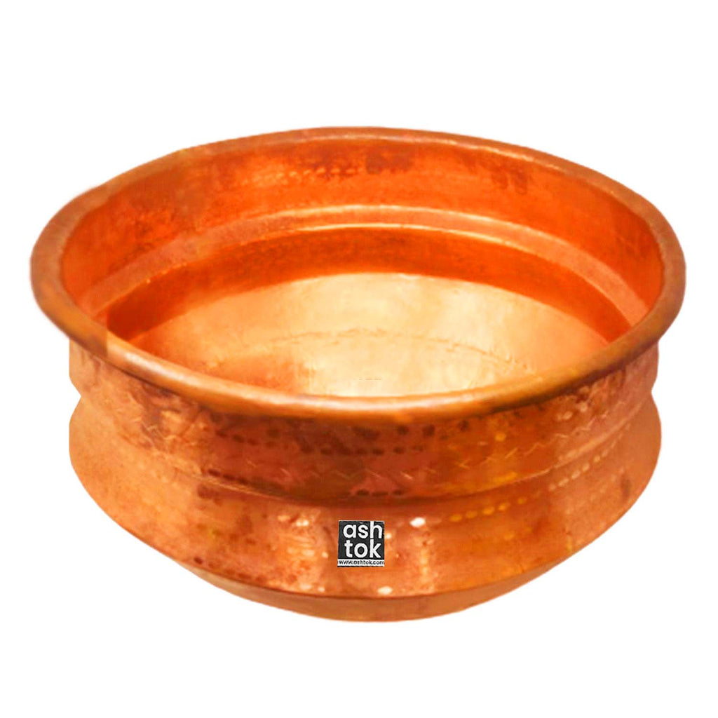 Copper Gangal Big size (18 Inch Diameter)*(12 Inch Height)
