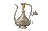 Antique Design Silver Coating Suhrai for Tea - Ashtok
