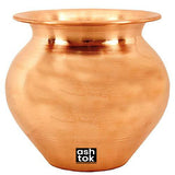 Pure Copper Pot | Copper Lota/Kalash for Pooja
