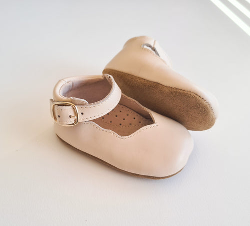 Ava Soft Sole Genuine Leather Mary Janes - Blossom
