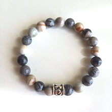 Load image into Gallery viewer, 8mm Ocean Jasper Bracelet ~ Stone of Joy