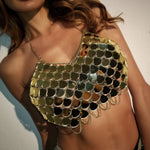 Load image into Gallery viewer, Mermaid Bralette Body Chain