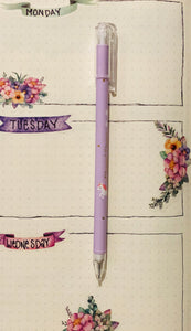 S. Unicorn Mechanical Pencil Lavender