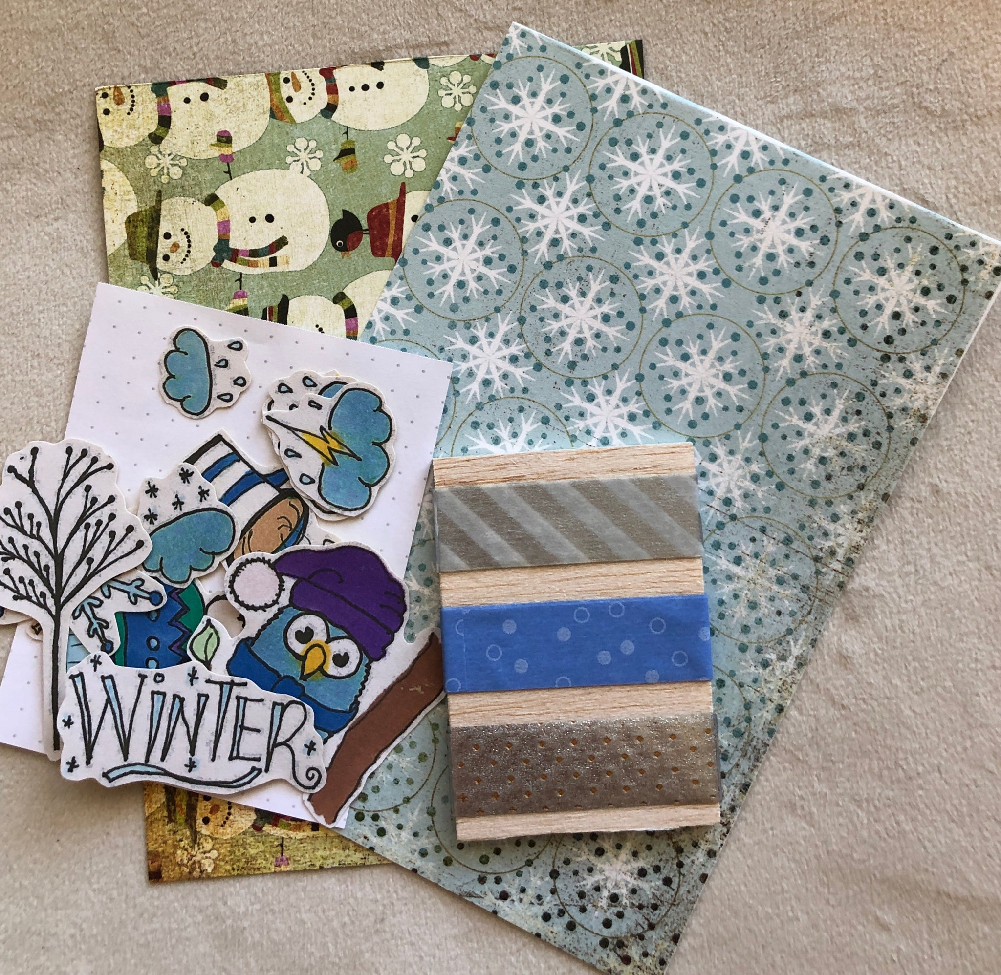H. Sticker Journal Kit - Winter