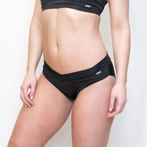 Load image into Gallery viewer, ARIA SPORT SHORTS - BLACK