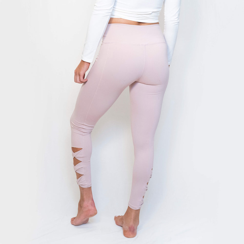 ELLA LEGGINGS - DUSTY PINK
