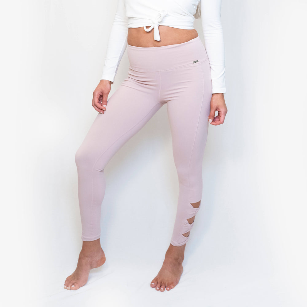 Load image into Gallery viewer, ELLA LEGGINGS - DUSTY PINK