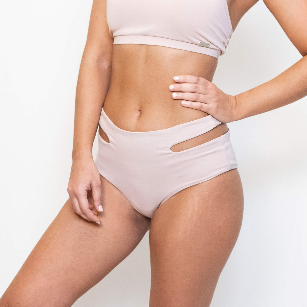 JADE SPORT SHORTS - DUSTY PINK