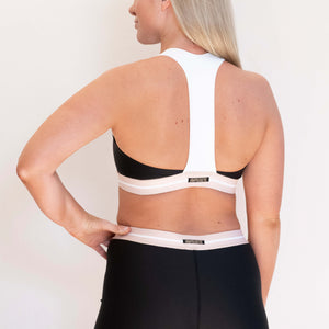 LANA SPORT TOP - BLACK