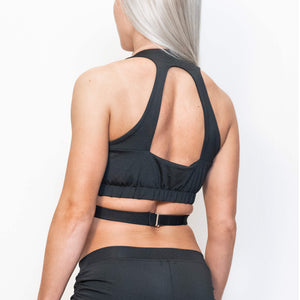 Load image into Gallery viewer, NOVA SPORT TOP - BLACK