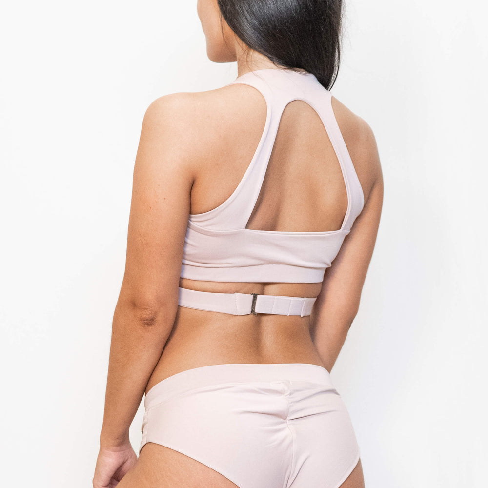 NOVA SPORT TOP - DUSTY PINK