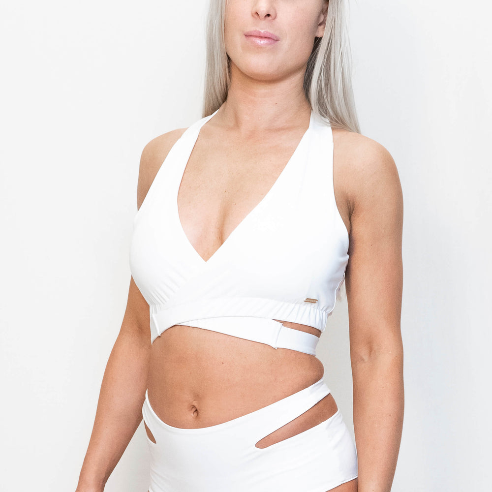 Load image into Gallery viewer, NOVA SPORT TOP - WHITE