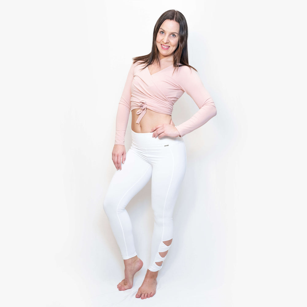 ELLA LEGGINGS - WHITE
