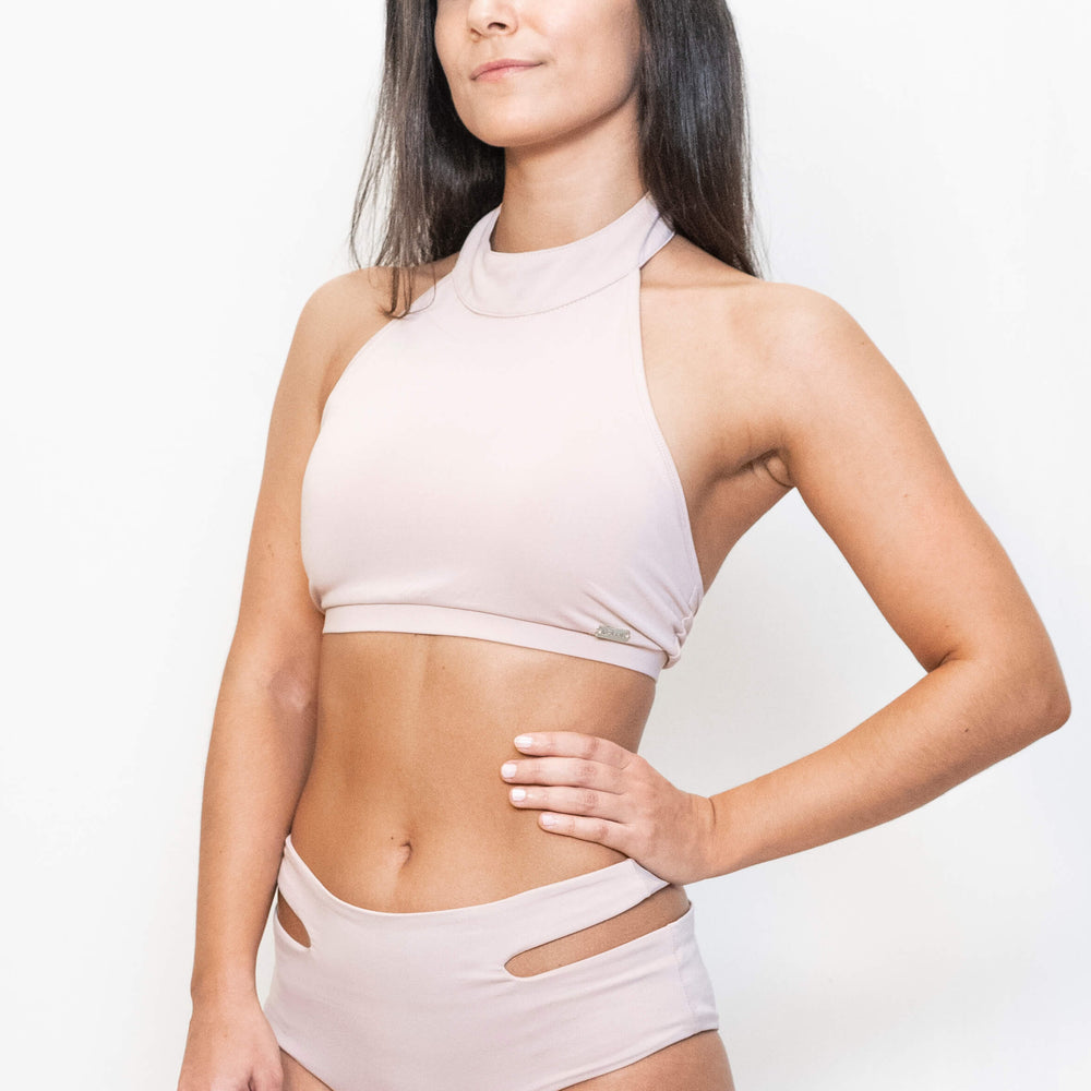 STELLA SPORT TOP - DUSTY PINK