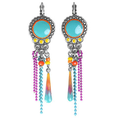 Franck Herval Turquoise Earrings French Jewellery