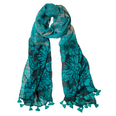 Lee Garret Turquoise Scarf