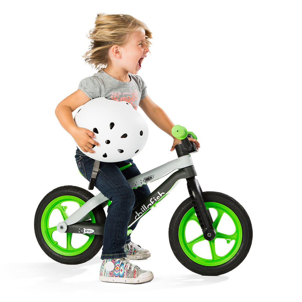 BMXie-RS - version 1 - lightweight balance bike with non-inflatable rubber tires