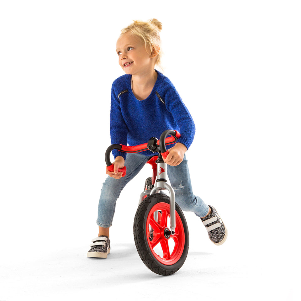 "Fixie - 12"" balance bike with dropbars and footbrake"