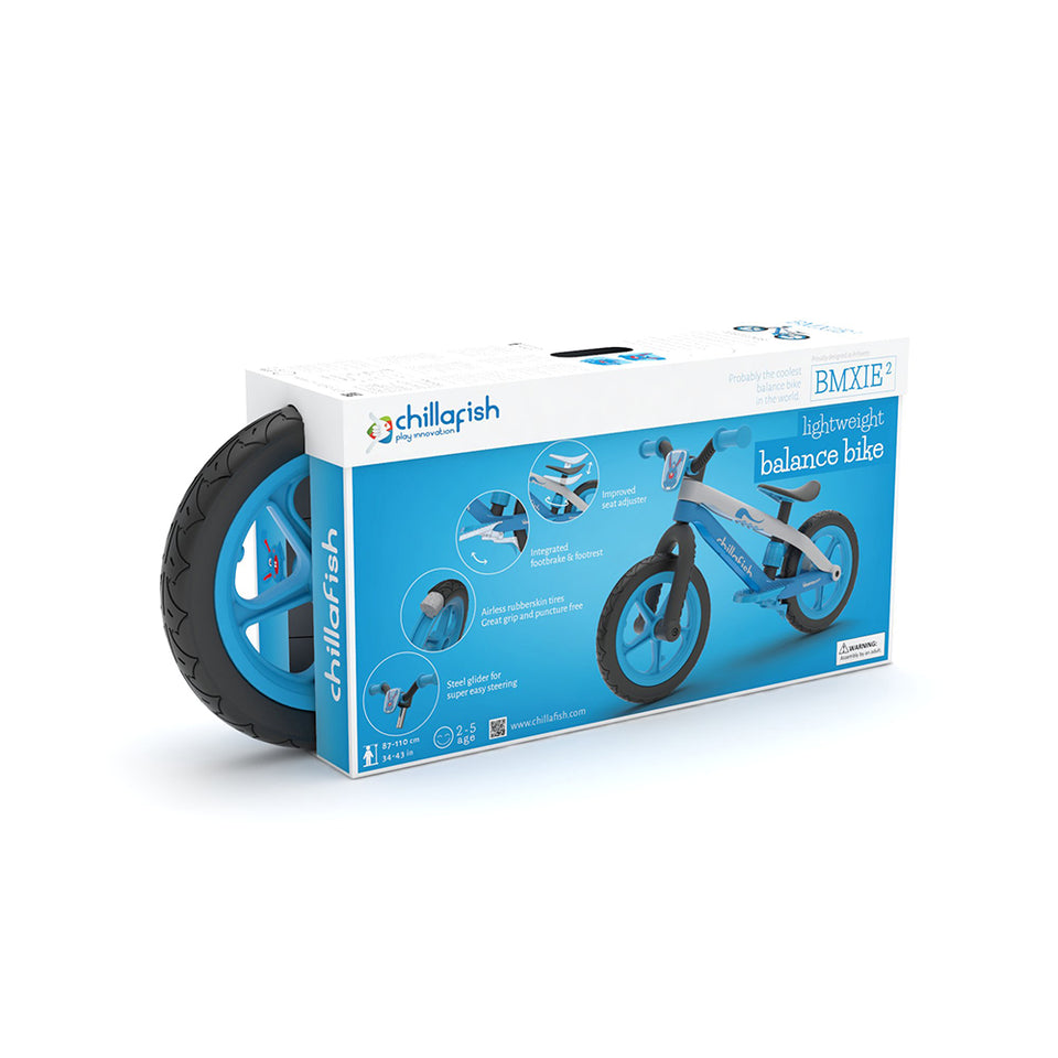 "BMXie2 - 12"" lightweight balance bike with footbrake"