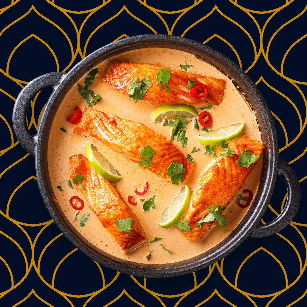FRUCHTIGES LACHS THAI CURRY