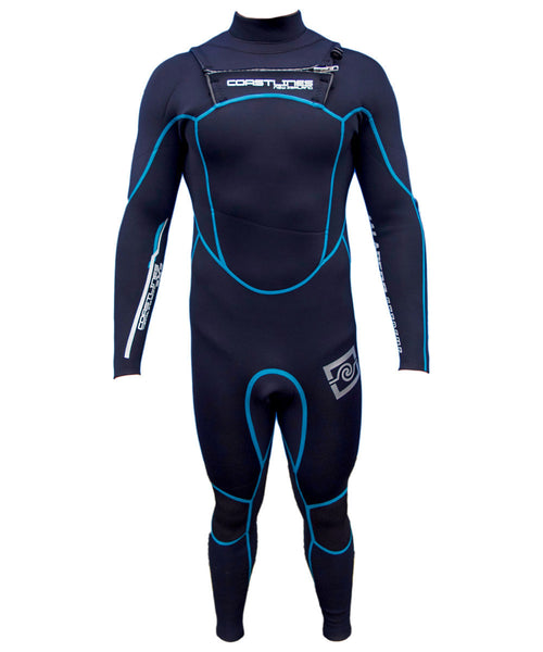Mens 3/2 High End Steamer Wetsuit - Blue
