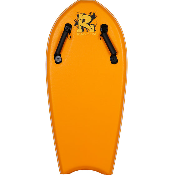 Random X Towable Bodyboard - Orange