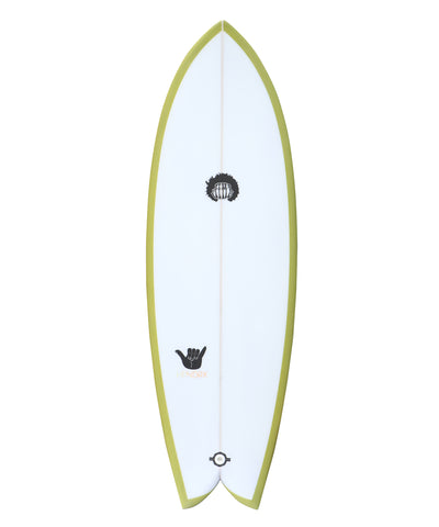 "Hendrix Fish : Lime 5'4"" - 6'6"""