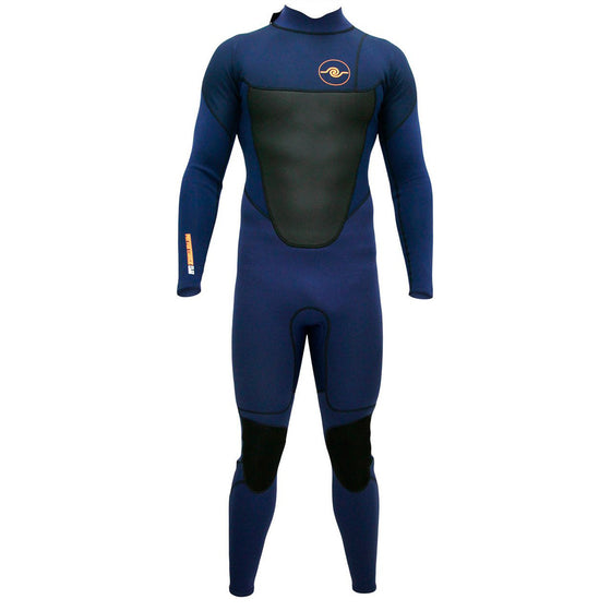 Mens 3/2 Long Sleeve Steamer Wetsuit - Navy