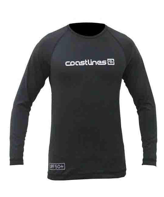 Mens L/S Rash Top - Black