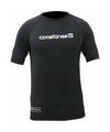 Mens S/S Rash Top - Black