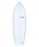 "MO Twin Fish MKII - Teal 5'6"" - 6'5"""