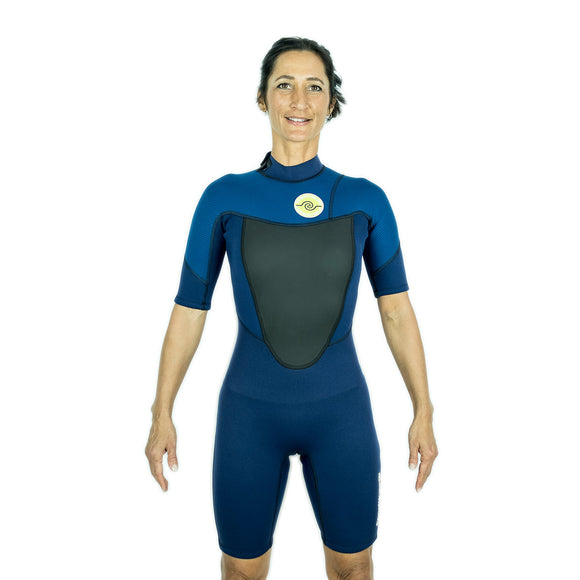 Womens 2/2 Spring Wetsuit - Navy 8 - 16