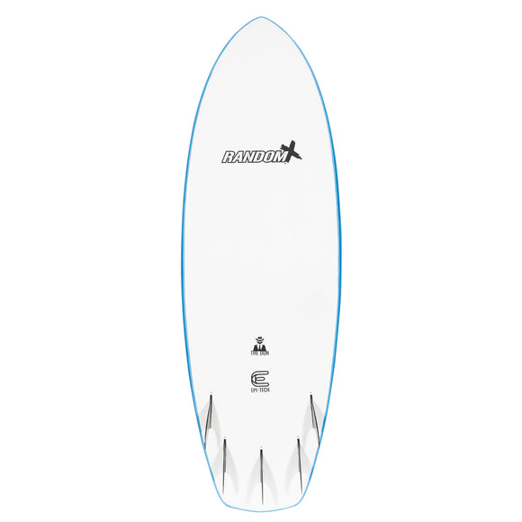 "Random X The Don Performance Softboards 5'10"" - Blue"