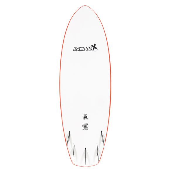 "Random X The Don Performance Softboards 5'10"" - Red"