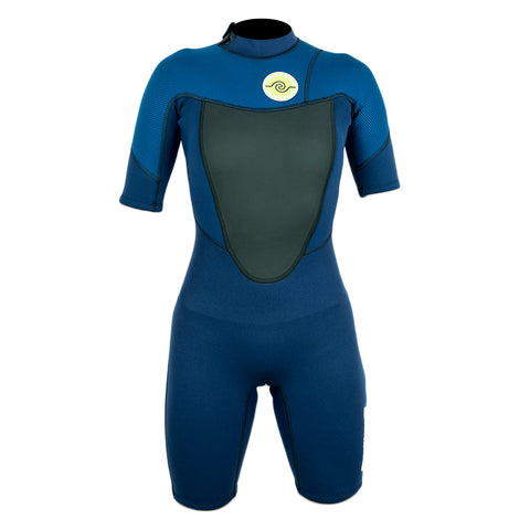 Womens 2/2 Spring Wetsuit : Navy