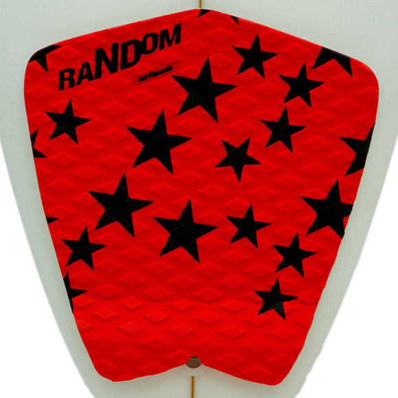 Random Deck Grip : Red / Black Star
