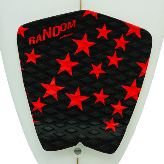 Random Deck Grip - Black/ Red Star